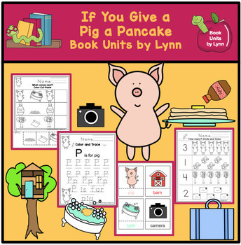 If You Give a Pig a Pancakes Book Unit