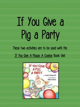 If You Give a Pig a Party Add On
