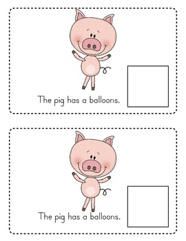 If You Give a Pig a Party Emergent Reader