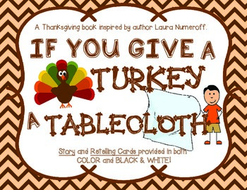 If You Give a Turkey a Tablecloth Story