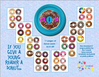 If You Give a Young Reader a Donut - CVC & more!