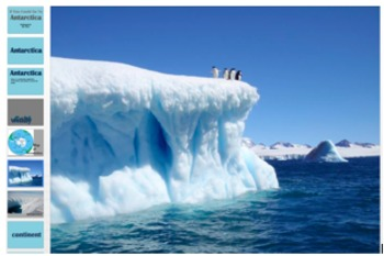 If You Could Go to Antartica Amazing Words PPT