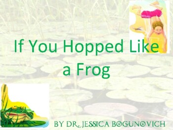 If You Hopped Like a Frog-Interactive PowerPoint for Ratios and Proportions