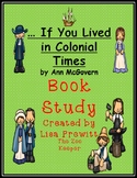 If You Lived in Colonial Times Book Study
