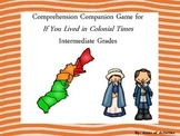If You Lived in Colonial Times Companion Game