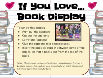 If You Love Book Display