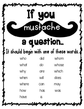 """If You """"MUST""""ache a Question Poster"""