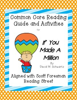 If You Made a Million- Common Core Reading Guide and Activities