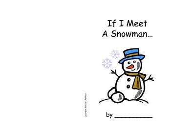 If You Meet a Snowman - Emergent beginner reader