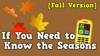 If You Need to Know the Seasons [Fall version] (video)