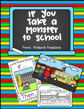 If You Take A Monster To School a rules and routines unit