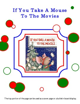 If You Take A Mouse To The Movies (activity pack)