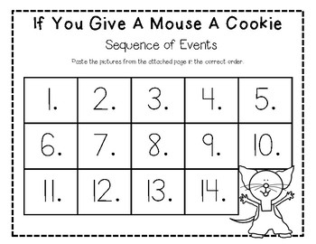 If You Give A Mouse a Cookie Story Pack