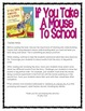 If You Take A Mouse to School - Writing Response