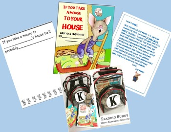 If You Take A Mouse to School (to Your House)-Take Home Journal-Buddy/Bag