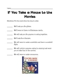 If You Take A Mouse to the Movies Sequencing