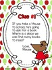 If You Take a Mouse to School: Back to School Scavenger Hunt