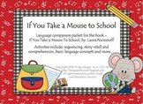 If You Take a Mouse to School - Speech and Language Compan