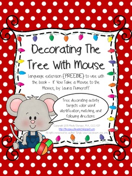 If You Take a Mouse to the Movies - Add-On Language Activity {FREEBIE}