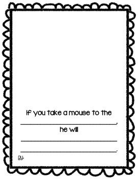"""""""If You Take a Mouse to the Movies"""" Classmade Book"""