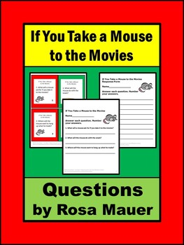 If You Take a Mouse to the Movies Comprehension Questions