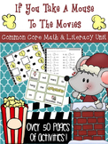 If You Take a Mouse to the Movies *Holiday/Christmas* Math