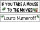 If You Take a Mouse to the Movies  (Interactive Literacy Board)