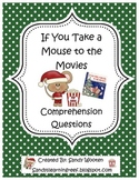 If You Take a Mouse to the Movies by Laura Numeroff Sequencing Activity