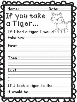 If You Take a Tiger... A creative writing unit for young authors.