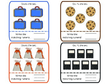 If You Teach a Mouse to Count! {math activities for Laura Numeroff books}