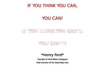 If You Think You Can