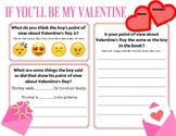 If You'll Be My Valentine POV activity