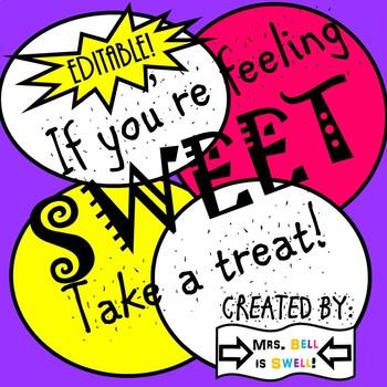If You're Feeling Sweet, Take a Treat!