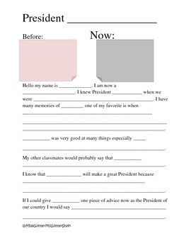 If Your Classmate Became President!