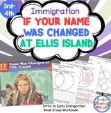 *If Your Name Was Changed at Ellis Island - Immigration Book Study