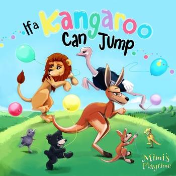 If a Kangaroo Can Jump Coloring Lyric Book