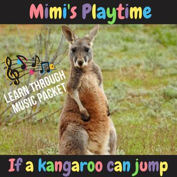 If a Kangaroo Can Jump (Learning Packet Complete)