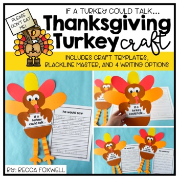 If a Turkey Could Talk... {A Thanksgiving Craftivity}