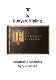If by Rudyard Kipling Class Play