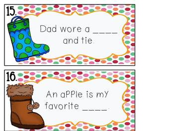 If the Boot Fits, Read it!  Practice with vowel digraphs ue ui ew oo