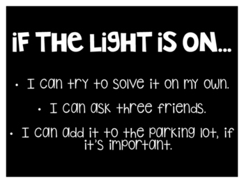 If the Light Is On...