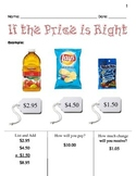 If the Price is Right