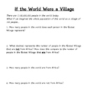 If the World Were a Village Word Problems