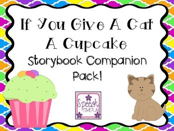 If you Give A Cat A Cupcake Companion