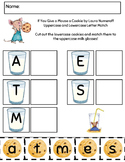 If you Give a Mouse a Cookie Letter Match Worksheet