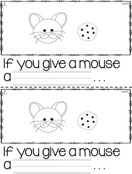 If you Give a Mouse a Cookie Retelling Booklet