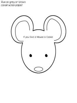 If you Give a Mouse a Cookie craftivity