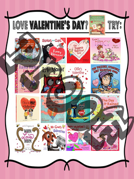 If you LOVE Valentine's Day ..... Picture Books Recommendation Poster