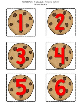 If you give a mouse a... (identify letters, numerals, shapes)