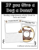 If you give a Dog a Donut Reading Activities